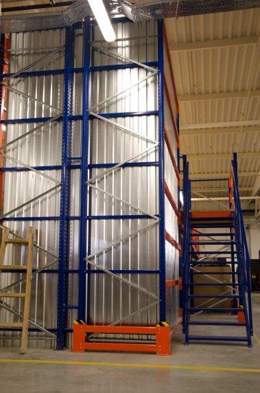 высотные стеллажи для склада галерея триометал сервис