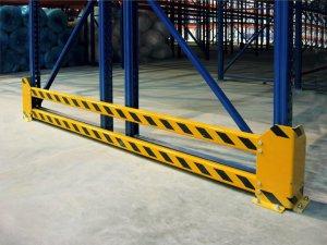 Елементи захисту складський стелаж
