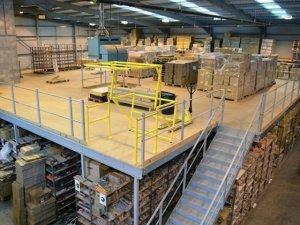 Технологическое планирование склада, стеллажные конструкции