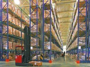 складской стеллаж, фото