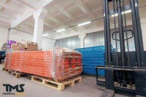 Мезонінні стелажі на склад